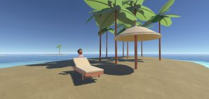 Virtual reality toepassing ontspanning