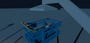 Virtual reality training hoogwerker